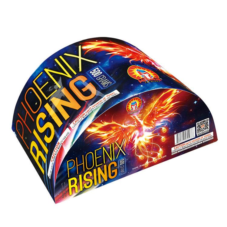 Best 500 Gram Cakes 2020 PHOENIX RISING   Magnus Fireworks : Top Fireworks Supplier from China